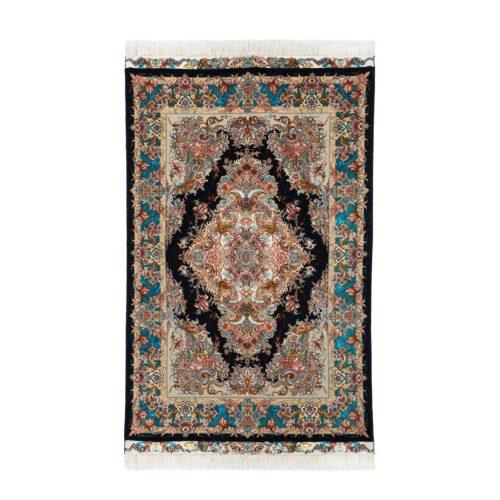 فرش دستبافت یک و نیم متری نقشه خطیبی کد A127